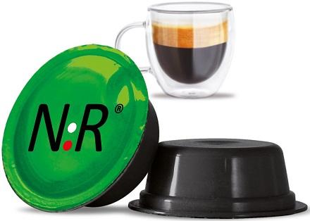 A MODO MIO Capsule Compatibili Scatola Caffè Espresso Bar 100 pz NeroRistretto