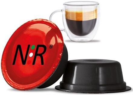 A MODO MIO Capsule Compatibili Scatola Caffè Fortissimo 100 pz NeroRistretto