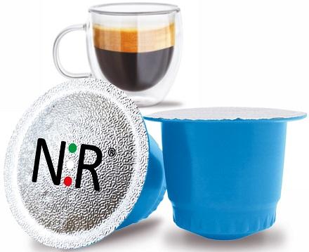 NESPRESSO®* Capsule Compatibili Scatola Caffè Decaffeinato 100 pz NeroRistretto®*