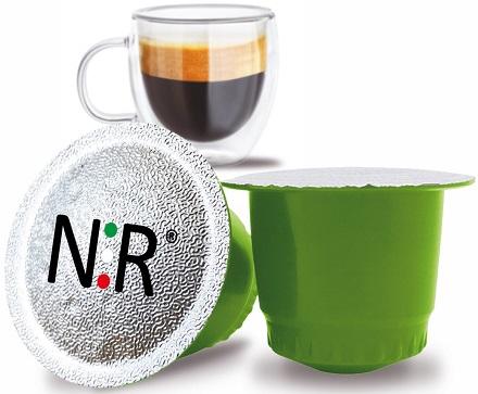 NESPRESSO Capsule Compatibili Scatola Caffè Espresso Bar 100 pz NeroRistretto
