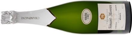 Champagne Extra Brut Reserve Grand Cru Simart Moreau