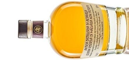 Grappa Riserva di Malvasia Non Filtrata Antica Distilleria di Altavilla