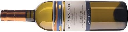 Tra Donne Sole Piemonte DOC Sauvignon Chardonnay Vite Colte